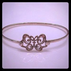 Retired James Avery Butterfly Hook Bracelet